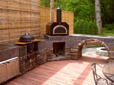 outdoor kitchen pizza oven design backyard pizza ovens outdoor furniture design and ideas 7243