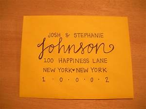 best 25 letter addressing ideas on pinterest envelope With address wedding invitations using calligraphy