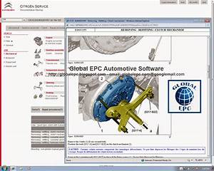 Global Epc Automotive Software  Citroen Service Box 11