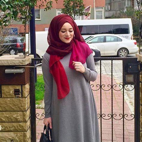 hijab chic pour printemps   hijab fashion