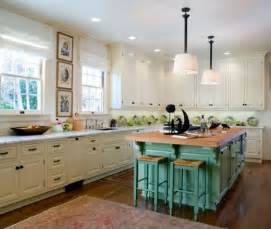 this eclectic kitchen design showcases traditional counters white cabinets against white walls