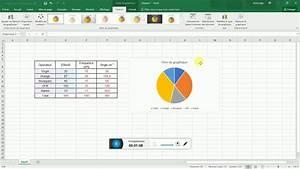 Construire Un Diagramme Circulaire Avec Excel