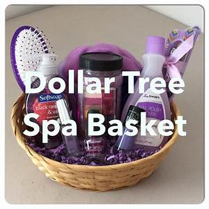 DIY Dollar Tree SPA Gift Basket! For Mother's Day