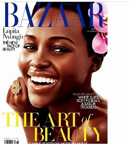 Magazine Shoot Lupita Nyong Bazaar