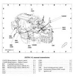 2002 Ford Focus Engine Layout