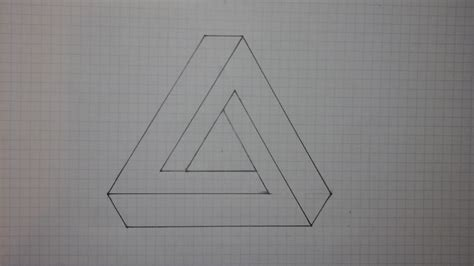 ways  draw  impossible triangle wikihow