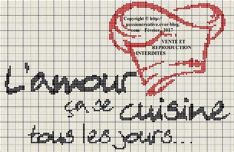 grille de cuisine grille gratuite point de croix l amour 231 a se cuisine