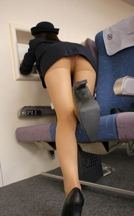 Bad Man Flight Attendant Upskirt This One Is So Easy To