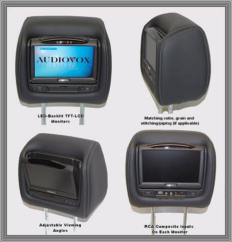 invision dvd headrest wiring diagram chevy impala ss