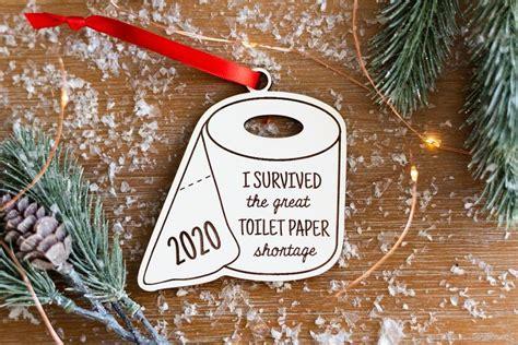 Free christmas ornament svg bundle. 2020 Toilet Paper Ornament SVG Christmas Ornament Digital ...
