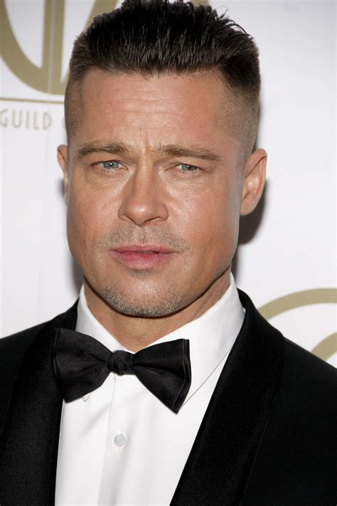 William bradley pitt (born december 18, 1963) is an american actor and film producer. Top 14 Memorable Brad Pitt Hairstyle As Role Model