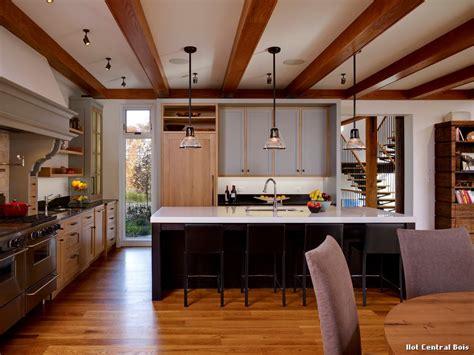ilot central cuisine ilot central bois with moderne cuisine décoration de la