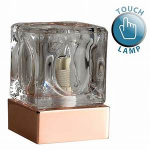 copper ice cube touch table lamp astral lighting ltd With copper cube floor lamp