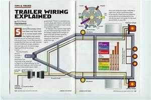 7 Pin Trailer Wiring Diagram Electric Brakes