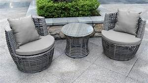 Salon Rotin Exterieur : mobilier exterieur jardin ~ Teatrodelosmanantiales.com Idées de Décoration
