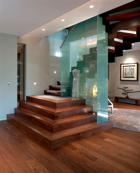 Decorating Ideas For Stairs And Landing by Decorating Stairs And Landing Staircase Contemporary With