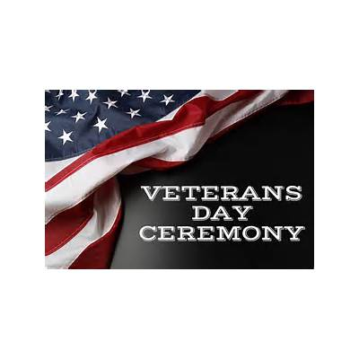 Honor military members at Veterans Day Ceremony in