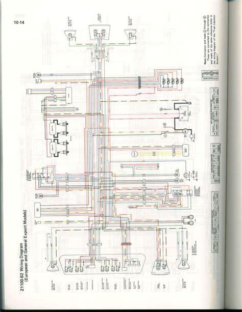Kawasaki Zrx Wiring Diagram by Kzr Forum Topic Gpz1100 B2 1983 Wiring Diagram 13