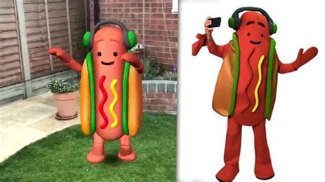 Snapchat Is Selling A Hot Dog Filter Costume For Halloween