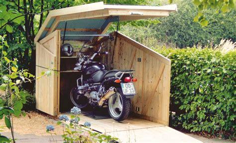 motorradgarage selber bauen fahrradbox bikeport schuppen selbst de