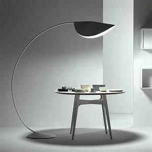 Lampadaire Moderne Salon : acheter grand demi cercle arc lampe de p che cercle lampadaire ikea plancher du ~ Teatrodelosmanantiales.com Idées de Décoration