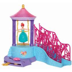 disney princess little mermaid ariel water palace bath set