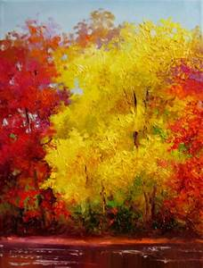 Nel's Everyday Painting: Yellow Fall Tree - SOLD