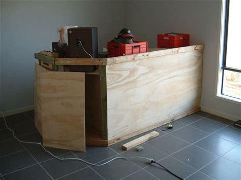 fabriquer un bar de cuisine plan pour construire un bar 8 bricobistro
