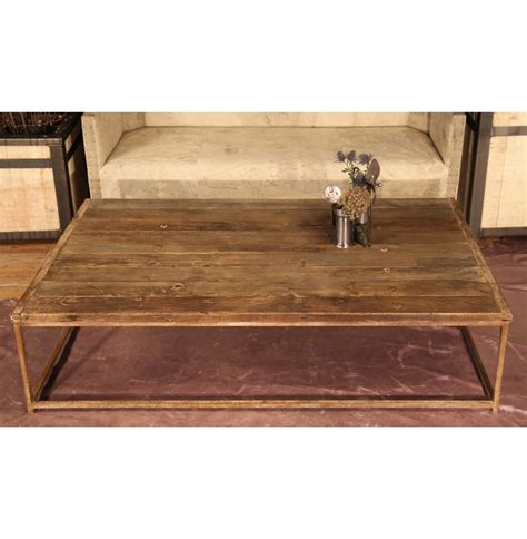 reclaimed elm wood thayer rustic lodge reclaimed elm wood coffee table