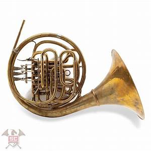 Canadian Designer Consignment Used Wes Hatch Hoyer Canadian Brass Double Horn Sn Na