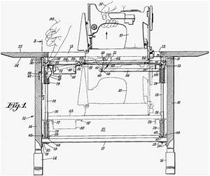 Singer Sewing Machine Parts Drawing