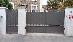 cloture aluminium leroy merlin daiitcom With porte d entrée alu avec miroir salle de bain avec spot intégré