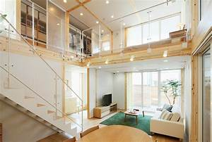 japanese style interior design With interior design of house with loft