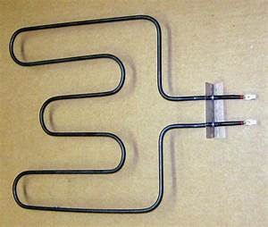 Electric Range Oven Lower Bake Element For Ge Wb44t10016
