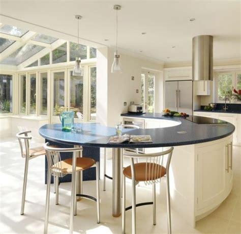 table de cuisine en verre ikea la cuisine arrondie dans 41 photos pleines d 39 idées