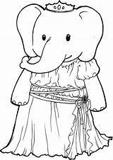 Elephant Coloring Tulamama Printable Sheets Telephone sketch template