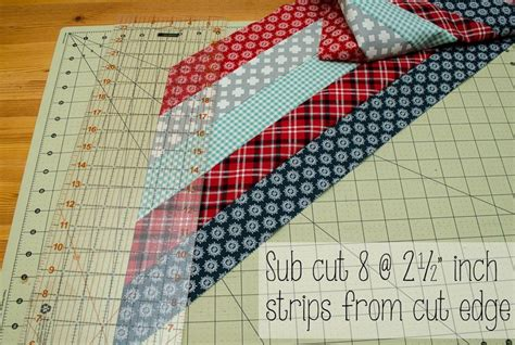 Quick And Easy Method Using Jelly Roll Strips To Make A