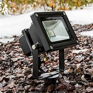 High power w rgb led flood light fixture with wireless