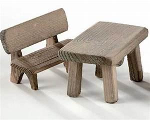 Gartenmöbel Set Holz Mit Bank : kahlert miniatur m bel 2 tlg gartenm bel set holz bank mit lehne und tisch ebay ~ Eleganceandgraceweddings.com Haus und Dekorationen
