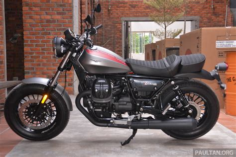 Moto Guzzi V9 Bobber Image by 2017 Moto Guzzi V9 Bobber On Display Rm74 900 Paul