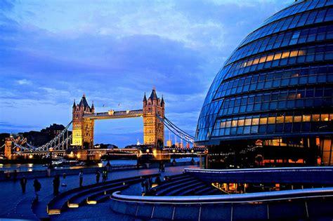 Tower Bridge And London City Hall.london