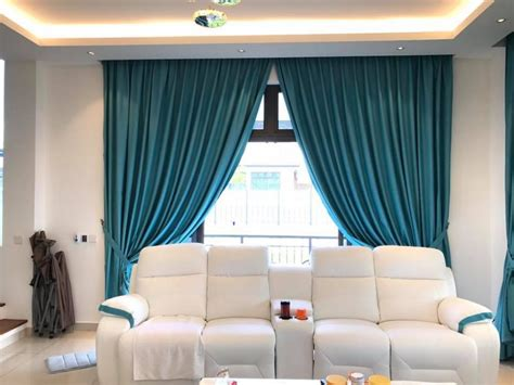 Decorating With Drapes - best curtains for living rooms in dubai