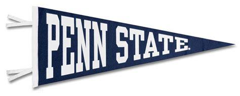 Penn State Block Pennant