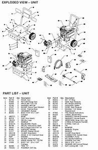 Generac Pressure Washer Model 1460