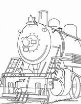 Steam Train Locomotive Front Coloring Pages Engine Drawing Print Getdrawings Toy sketch template