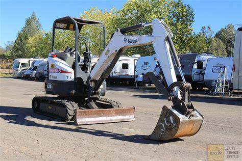 bobcat  mini excavator pacific coast iron  heavy equipment dealer