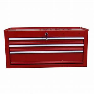 Shop Task Force 12-in x 26-in 3-Drawer Ball-Bearing Steel