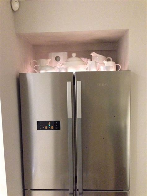 Ornamental top of fridge storage   Kitchen   Pinterest
