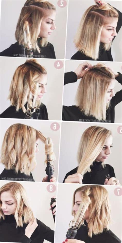 coiffure pour cheveux mi long tendances