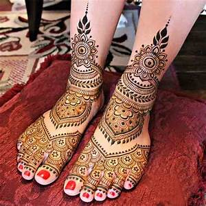 Latest Bridal Mehndi Designs 2017 2018 In India and ...